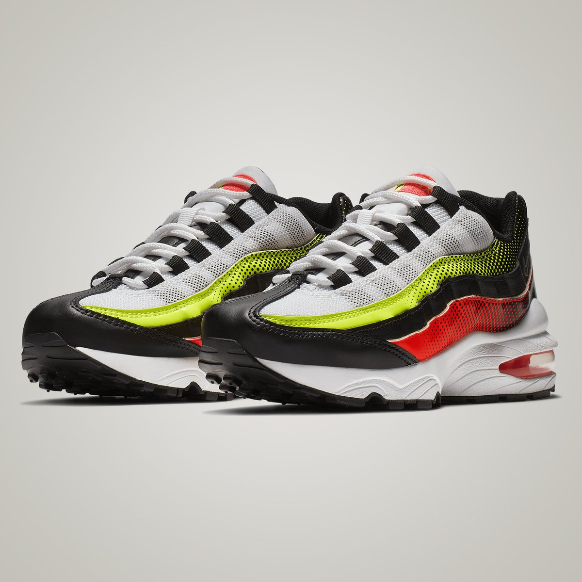 Get The NikeCourt Vapor RF x Air Max 95 Neon Now
