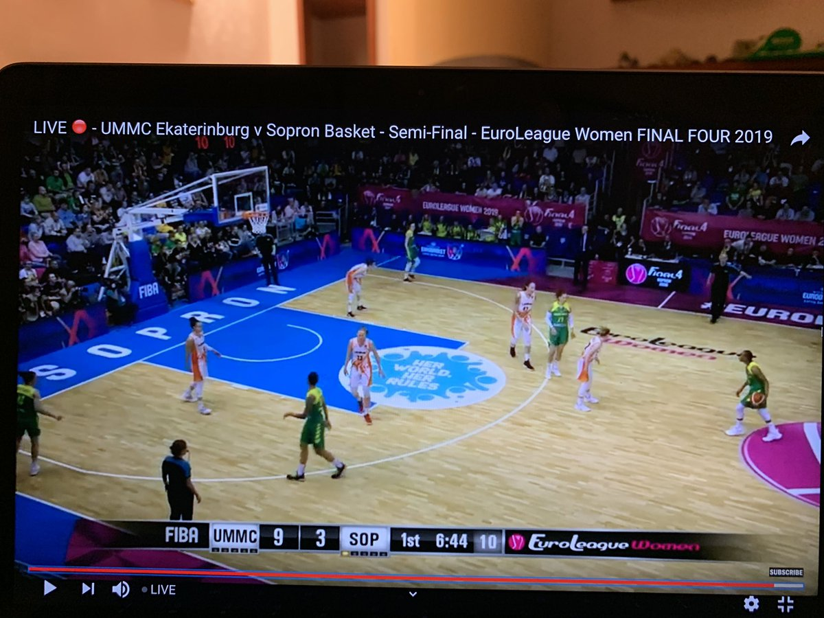 7 WNBA players on the court in this Euroleague semi final.. maybe @espn can get involved in the future? #justathought #growthegame