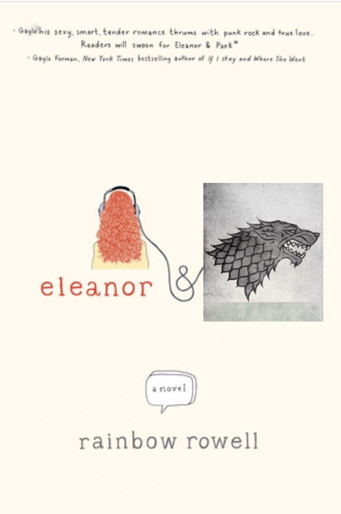 @BNBuzz @BNSciFi @BNTeens @GameOfThrones Eleanor and Stark #GOTaBook