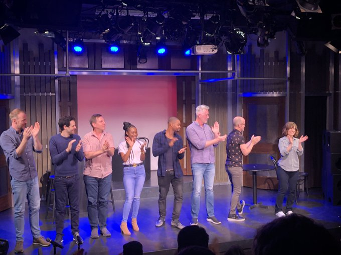 Wow yesterday on stage performing with the legendary Groundlings was a dream come true ❤️ Thank you for having m