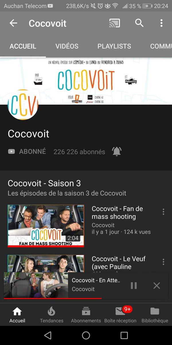 الوسم Cocovoit على تويتر