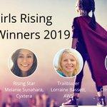 Image for the Tweet beginning: Cloud Girls Rising Awards Honor