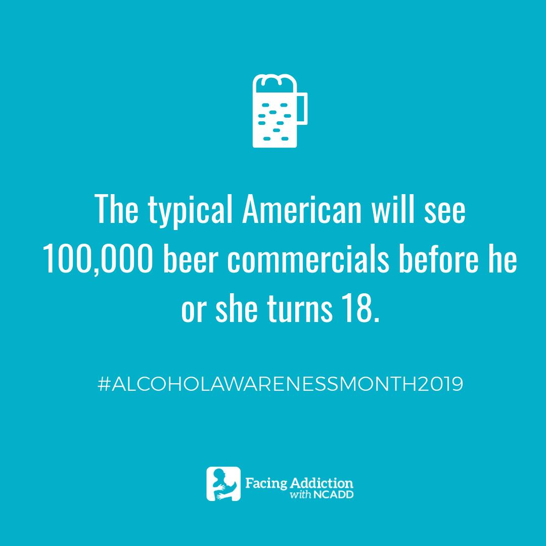 The pressure to drink alcohol is everywhere and it's not our imagination. Retweet this post and help us spread the word during #AlcoholAwarenessMonth2019! https://t.co/x6oskt39Ab