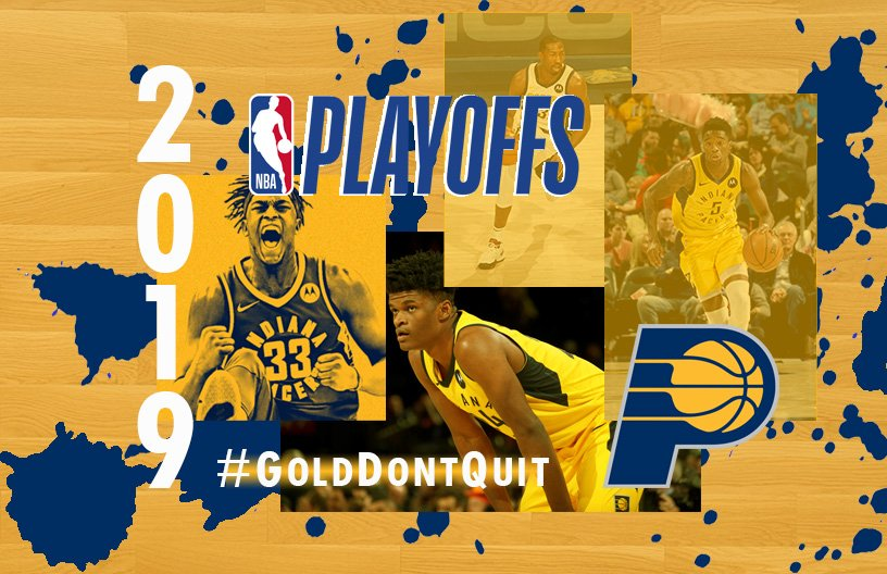 Can't wait for Game 1 on Sunday #NBAPlayoffs #GoldDontQuit