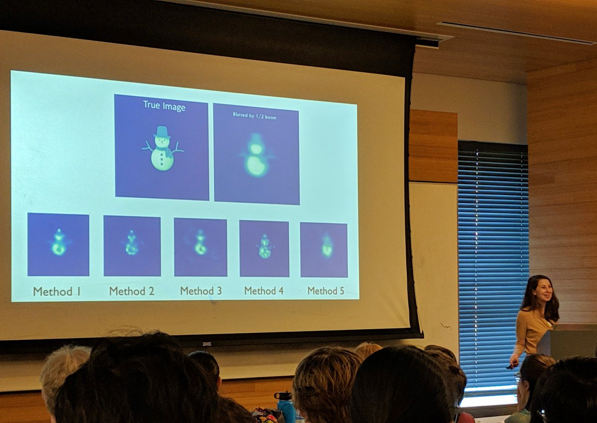 Also, they trained their algorithms on some random images just for fun. Here's how it sees a snowman!