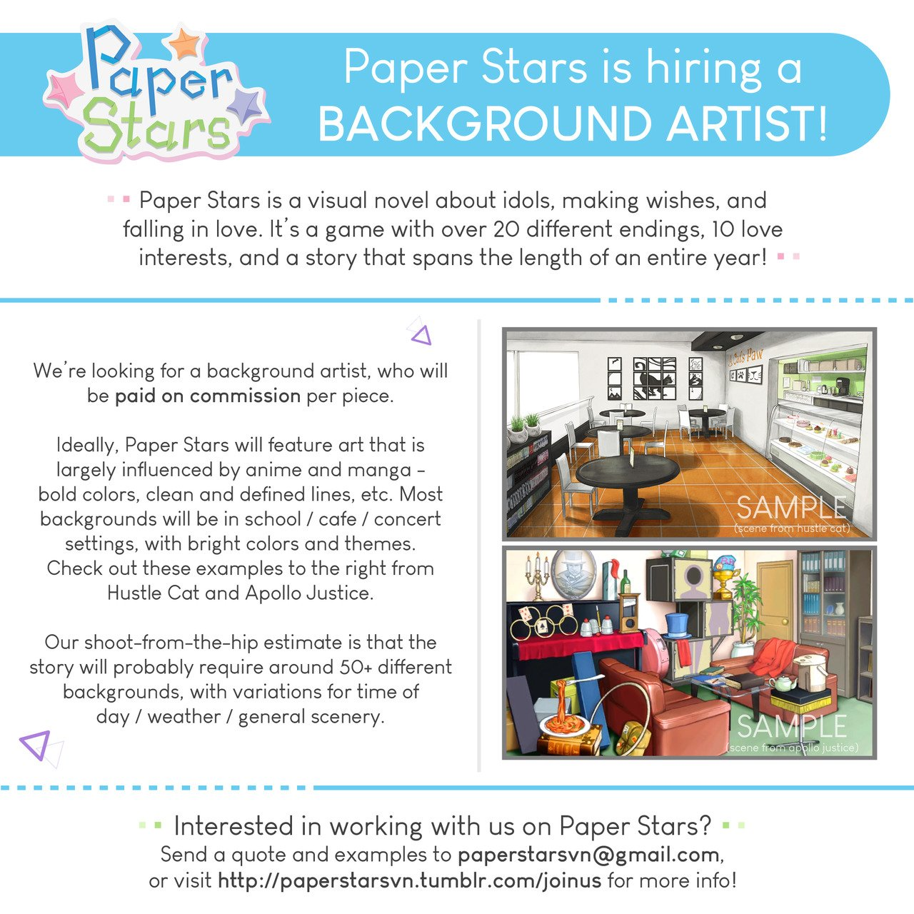 Awe Inspiring Paper Stars On Twitter Paper Stars Is Hiring A Background Interior Design Ideas Oxytryabchikinfo