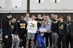 Last week, we were lucky enough to hang out with the Special Olympians in Oshkosh.  What a great experience!