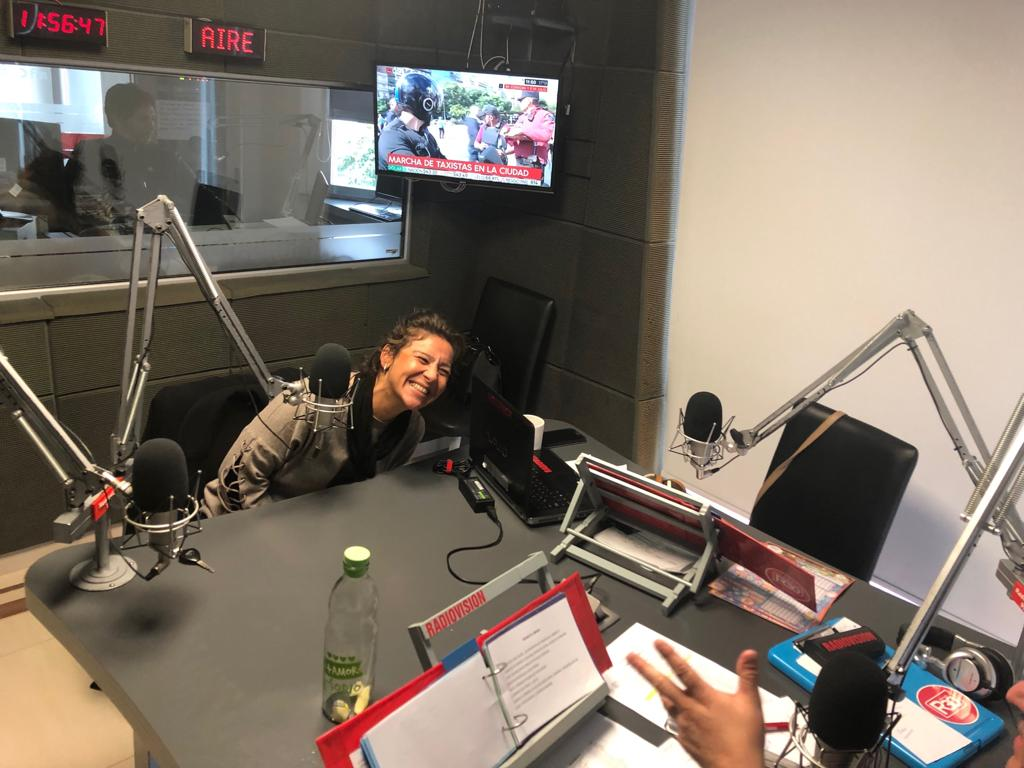 Lo pasé GENIAL!!!!!..@Radiovision995  #COMODORO