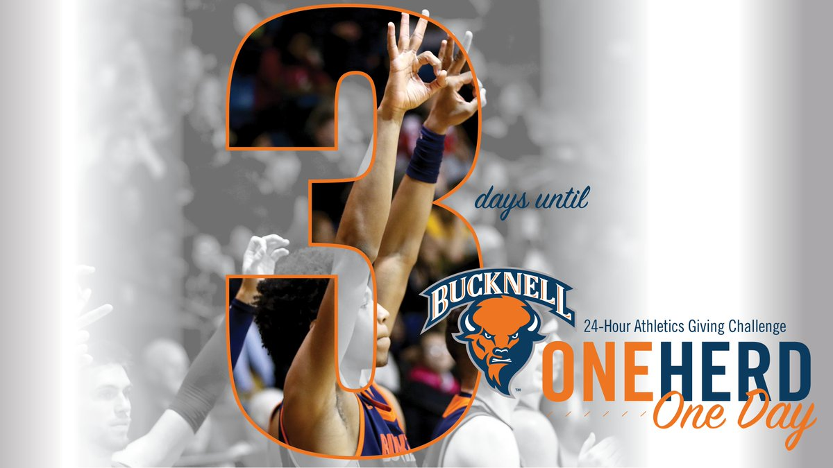Only 3⃣ days remain until the #OneHerdOneDay giving challenge! #rayBucknell #TheBisonWay