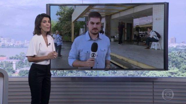 3e1345045 gtemaisestadao apresentadora precisa ter calca costurada durante jornal ao  vivo na globo.