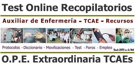 Test Online Recopilatorias Auxiliares de Enfermería / TCAEs... D302oCoWwAAe2g3