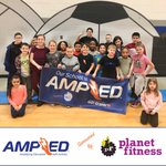 GO! Grants are AMPlifying Skyview Elementary with AMPED running/walking program, sponsored by Planet Fitness #getAMPED
