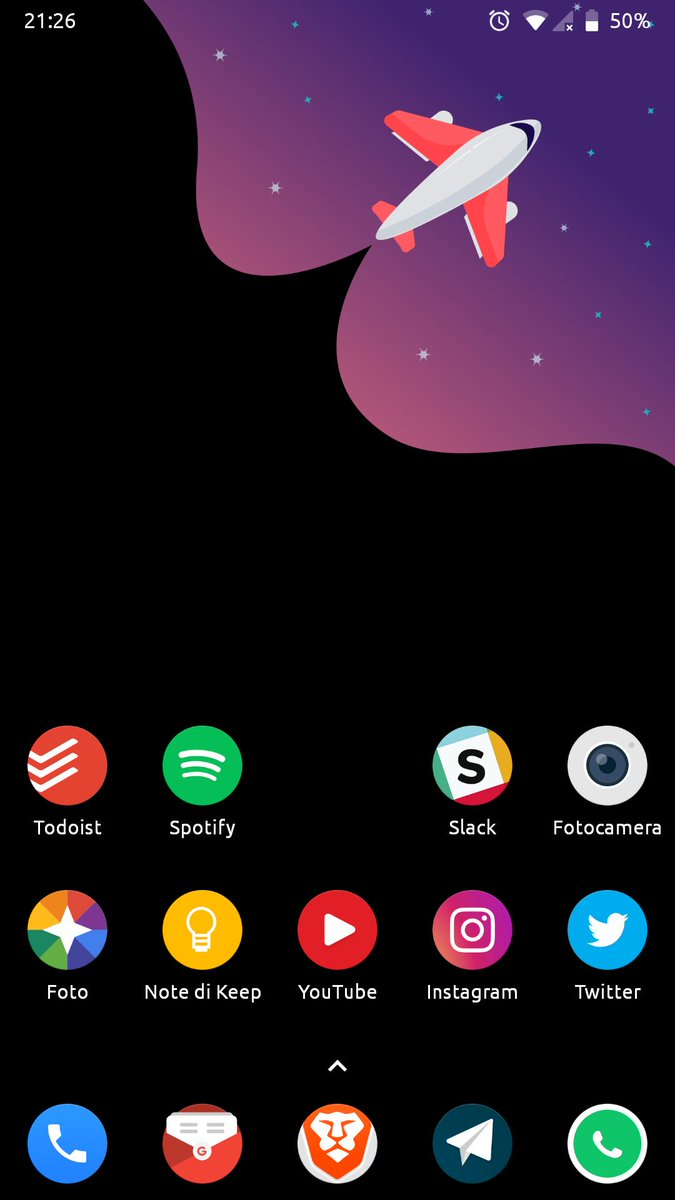 One of the best setup I've ever had #novalauncher #android #pie #androidpie  #aicp