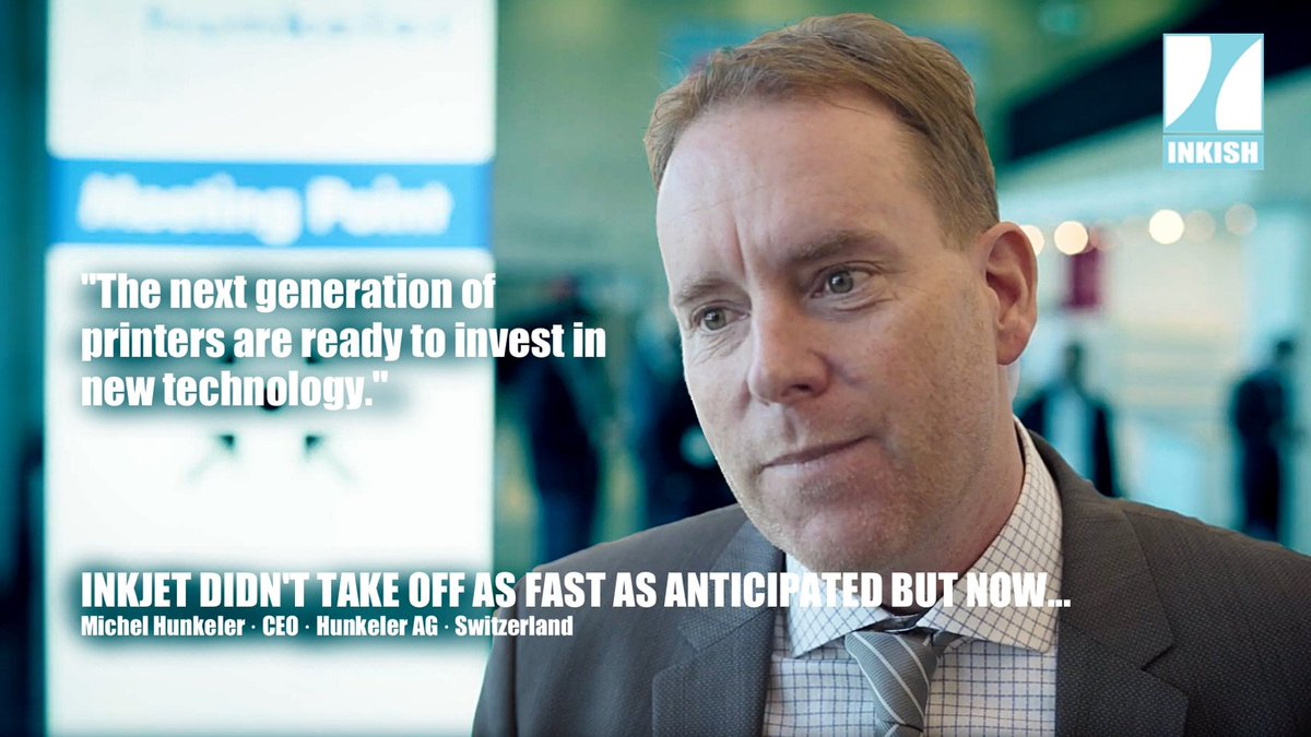 Watch the interview of @InkishTv with Michel Hunkeler @HunkelerMichel at Hunkeler Innovationdays 2019 #hid19!
