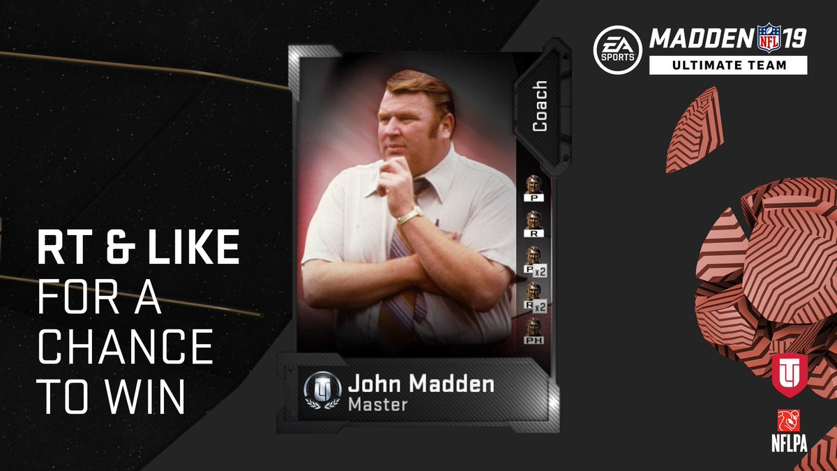 Birthday Celebration for Coach Madden! 🏈🎂🎮  RT and Like for a chance to win!