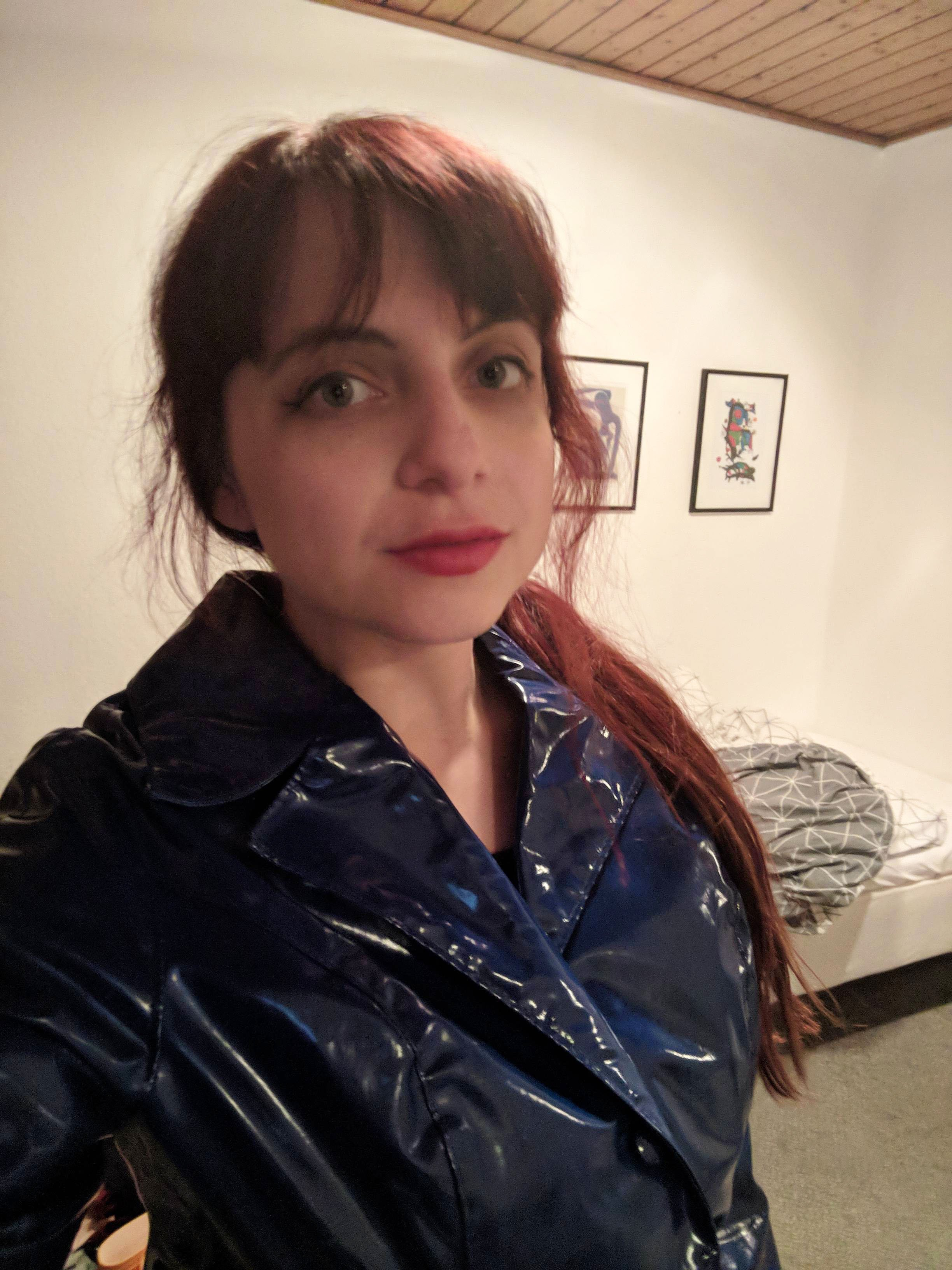 Fetisch regenmantel Regenmantel Fetisch