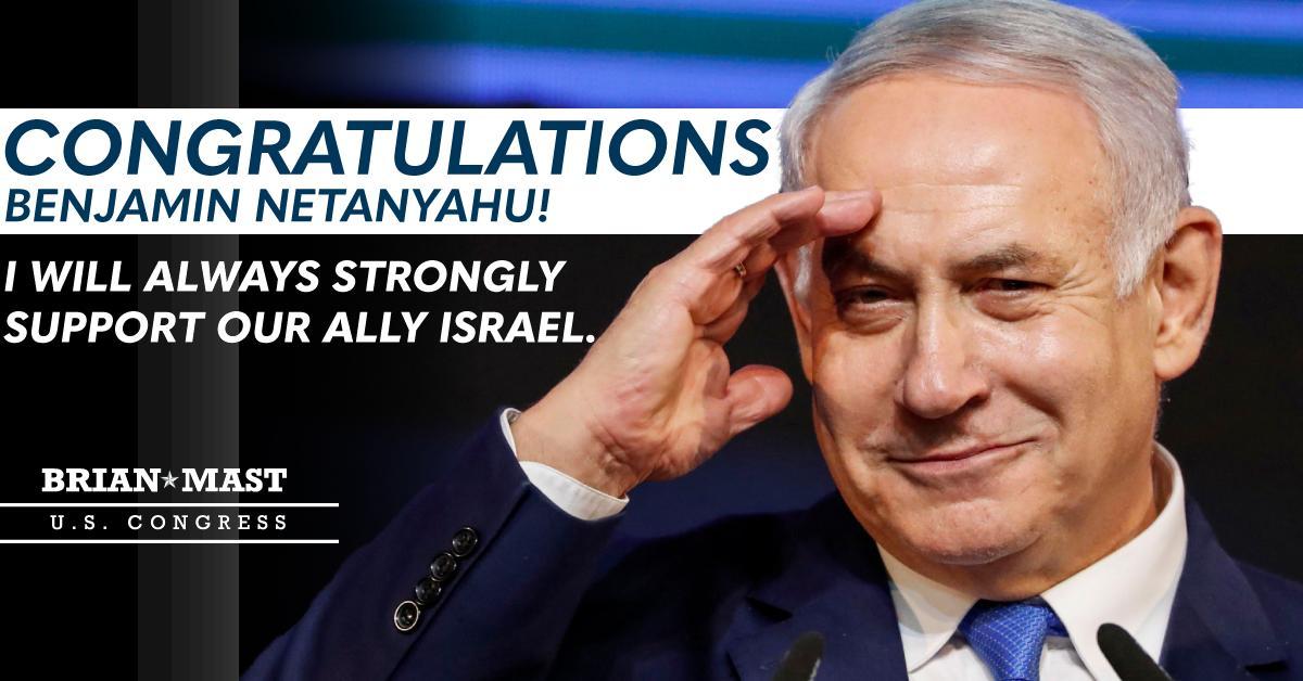 Congratulations @netanyahu!