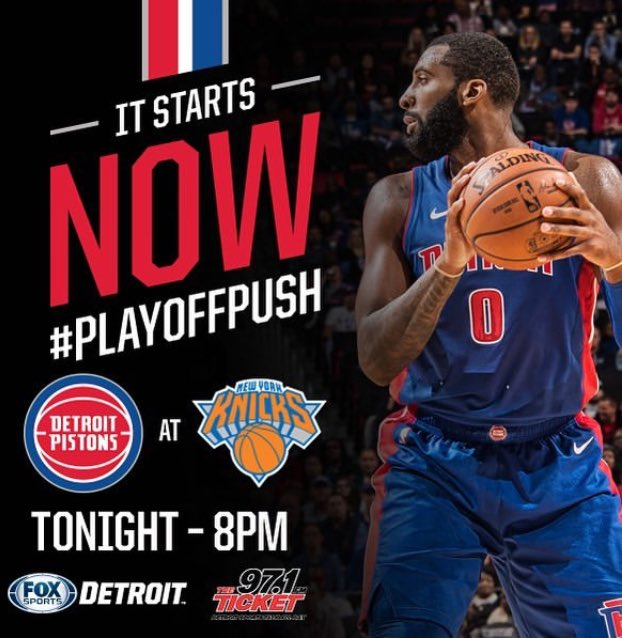 Win and we're in! #game82 #nbalife #PlayoffPush #detroitbasketball https://t.co/wrEqqitop3