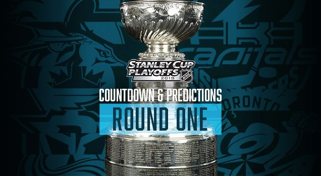 d5548d45ca5 New #HbyD! NHL Playoffs 2019: Round 1 Countdown and Predictions: http: