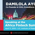 Image for the Tweet beginning: Tomorrow, our COO @Dami_Ayorinde will