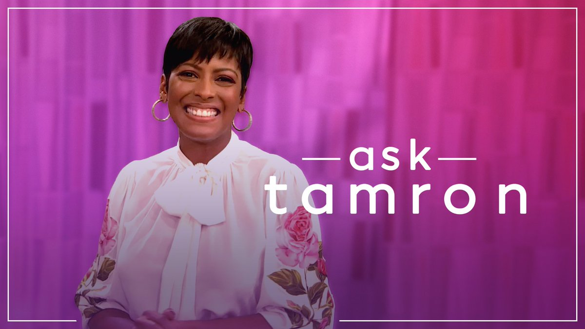 We're all ears👂🏽! Tell us what you want to know about our show host Tamron Hall and we'll get the top questions answered. #AskTamron
