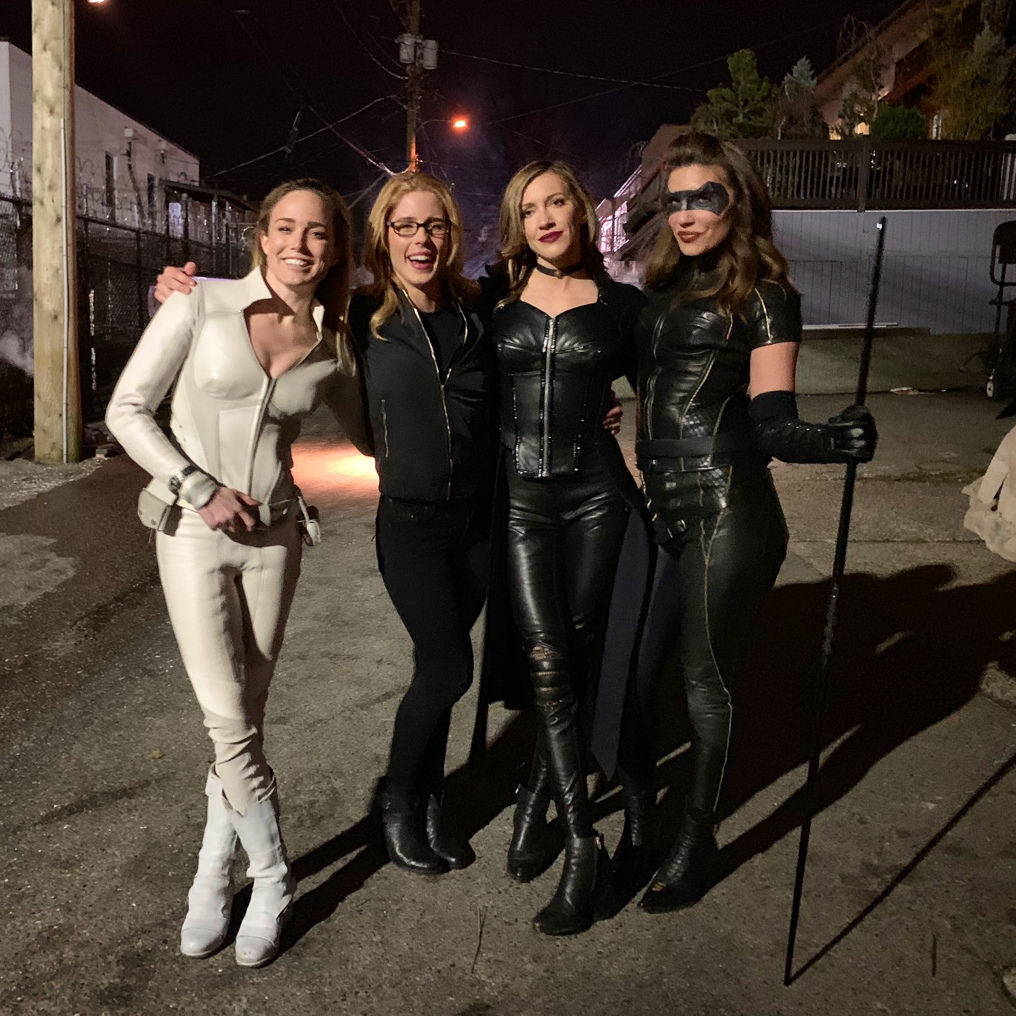 Caity Lotz On Twitter Wear White They Said You Ll Fit Right In