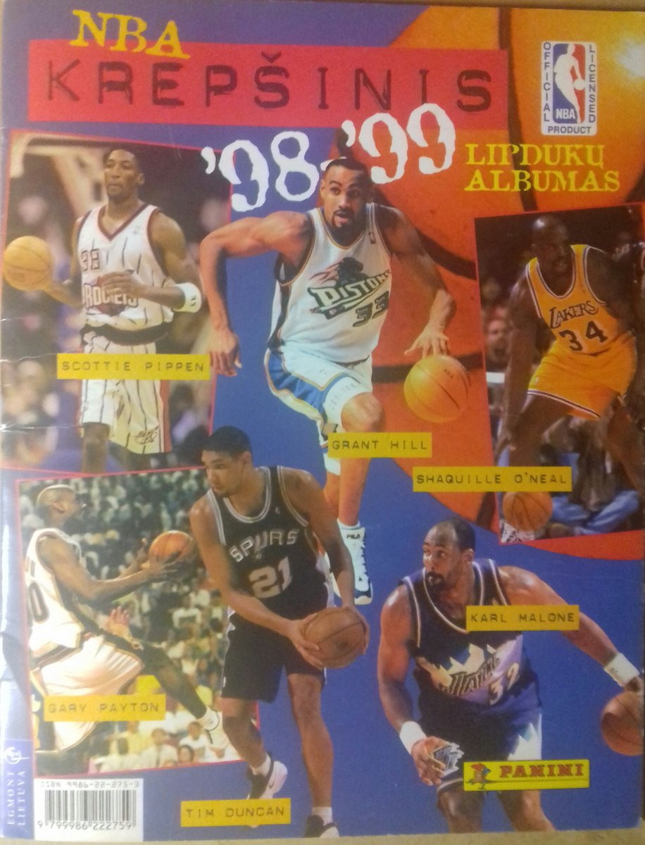 eda8eac913d Missing a couple stickers still. 1. Front Cover 2. Celtics for @Dee4Three84  3. Pippen, Barkley Rockets 4. Lakerspic.twitter.com/fxCQY0RWj0