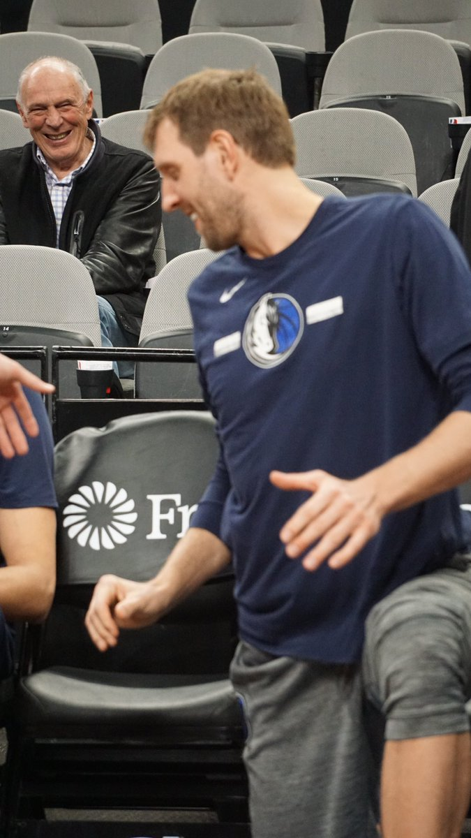 Find somebody that looks at you the way Holger looks at Dirk.
