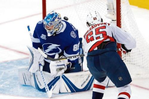 Tampa is ridiculous. We KNOW this, folks.  However:  Shhhhhhhhhhhhhhhh. IF we see them down the road, we'll be ready. We went to absolute war with them last year and DESTROYED them in Games 6 & 7. No matter what: #ALLCAPS #StanleyCup #CapsBolts #WeDidIt #Back2Back