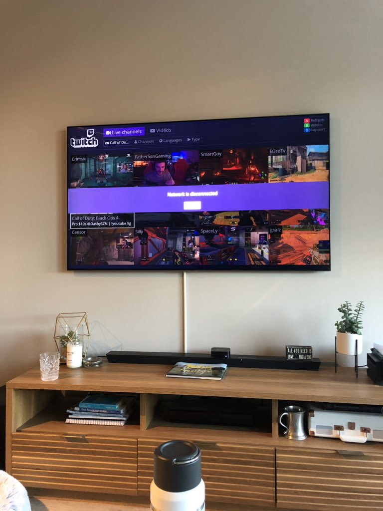 Twitch app samsung tv