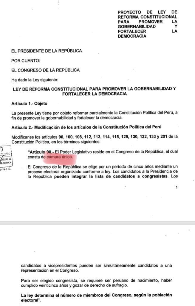 Martín Hidalgo On Twitter El Poder Ejecutivo Presentó Hoy