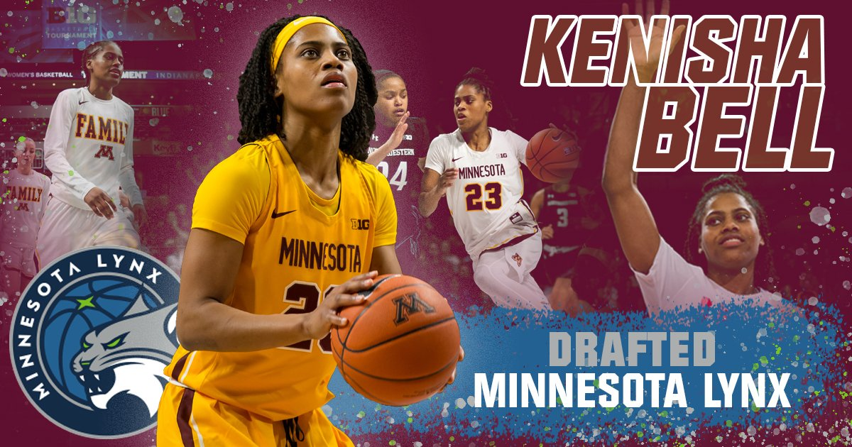 With the 30th overall pick in the 2019 #WNBADraft, the @minnesotalynx select #Gophers senior @keke_nike23!  She's the 8th Gopher ever to be drafted, and the 4th to be taken by the Lynx!   Full Story: https://z.umn.edu/48pq