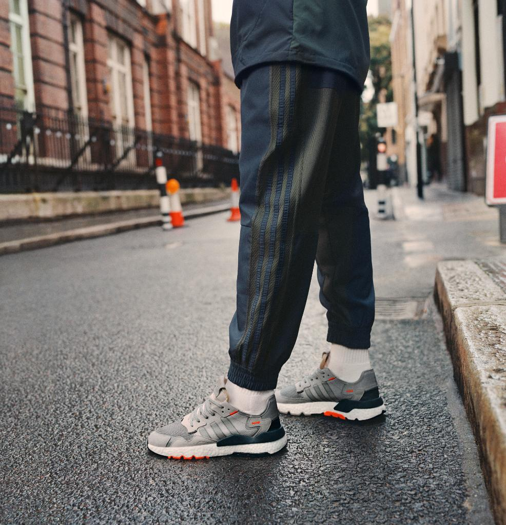 Unmatched comfort of BOOST meets hi-vis detailing. #NITEJOGGER in new colourways available April 11th. See more at http://a.did.as/6015Ejtah