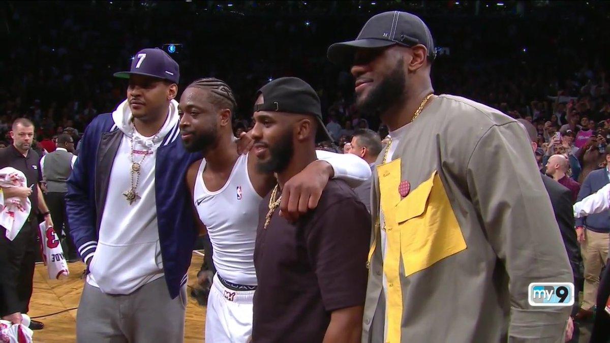 【影片】韋德將最後一舞的球衣贈予安東尼,賽後採訪:甜瓜是我选择再战一年的重要原因!-黑特籃球-NBA新聞影音圖片分享社區