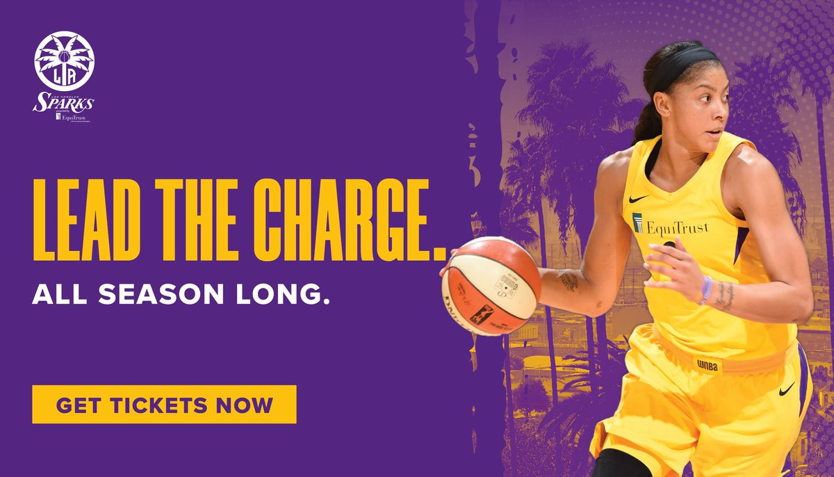 Don't miss out on the exciting 2019 @WNBA season!🙌🏀  Be with us all season long😎  http://bit.ly/2019SingleGame  #GoSparks #LeadTheCharge