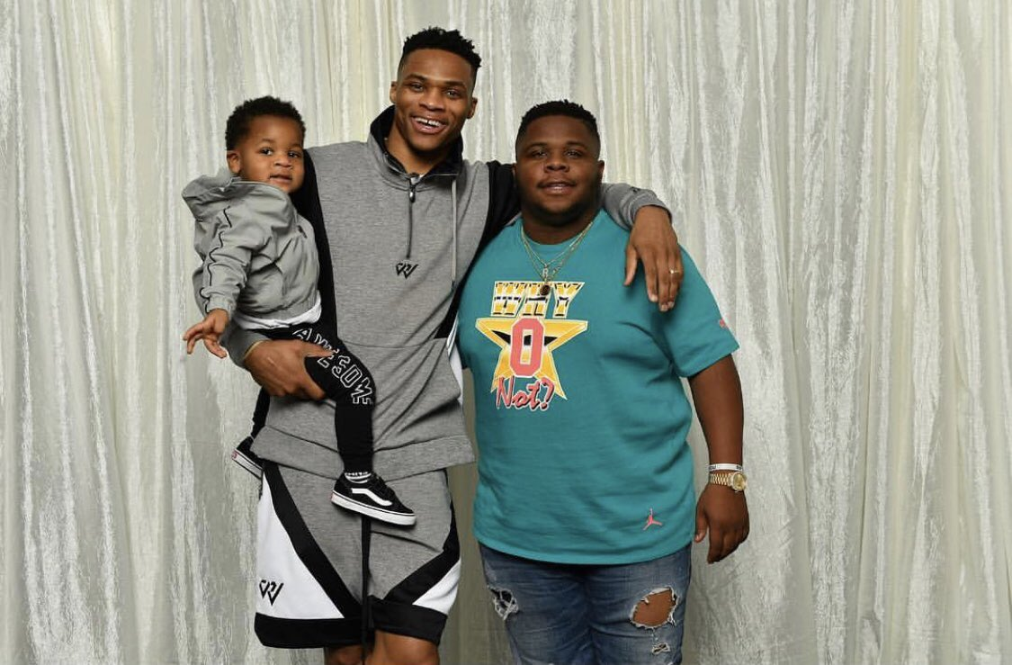 Russell Westbrook @russwest44