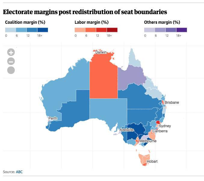 Australia Interactive Map.Guardian Australia On Twitter State Of Play Interactive Map Of