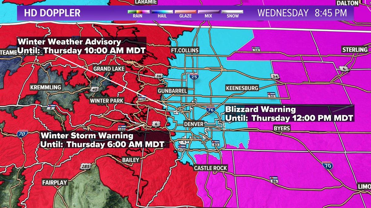 9NEWS Weather - @9NEWSWeather Denver : Latest news, Breaking