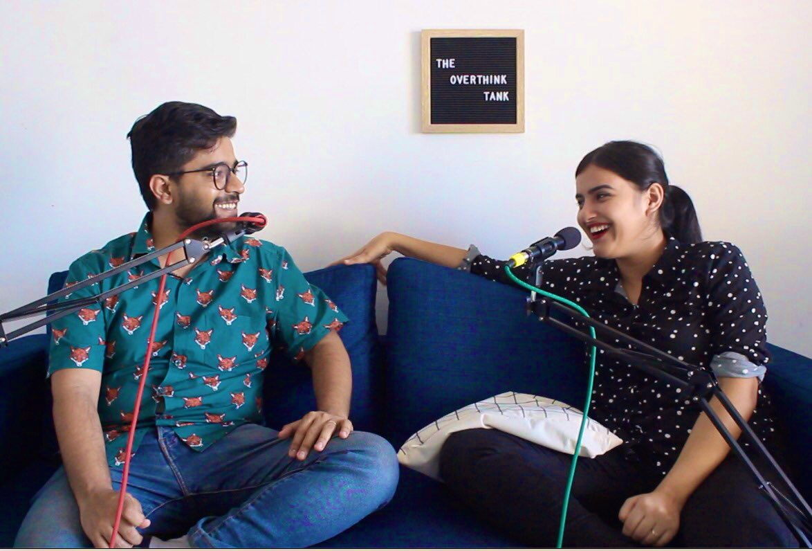 New @TheOverthinkPod is out!!!! I got the very funny Adhiraj Singh to overthink throwing parties, coasters, paper cups & other party essentials and taking care of DRUNK PEOPLE! Cheggit: https://open.spotify.com/episode/41nW7KSVx4kaMUzUtExP4y?si=SGvD5RKTSUGBiKwx2MEHZg…