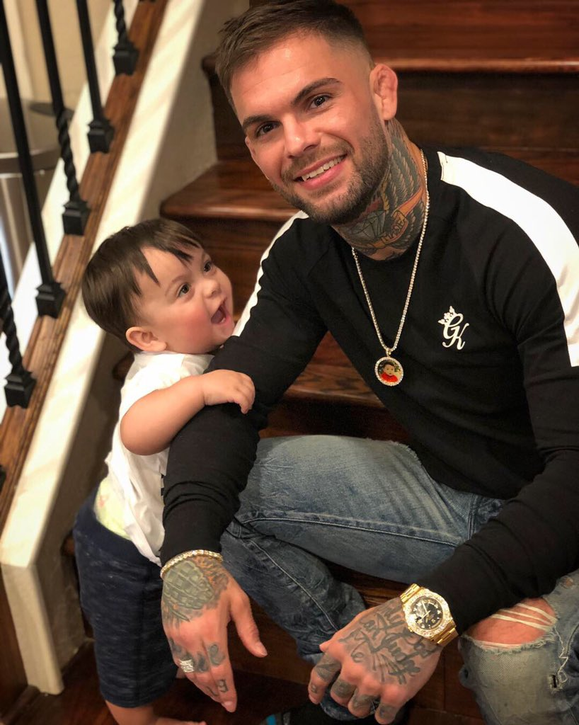 """Cody Garbrandt on Twitter: """"""""Every father should remember one day his son will follow his example, not his advice.""""… """""""