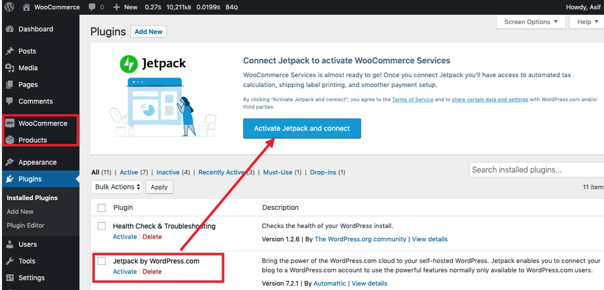 test Twitter Media - So, now if I use @WooCommerce, I have to use @jetpack? This notice is not possible to remove. But maybe I don't need #Jetpack. And BTW I have not installed or asked specially to install Jetpack as well, it came after the setup wizard. As soon as I disabled Jetpack, this appears! https://t.co/ItELShrVPi