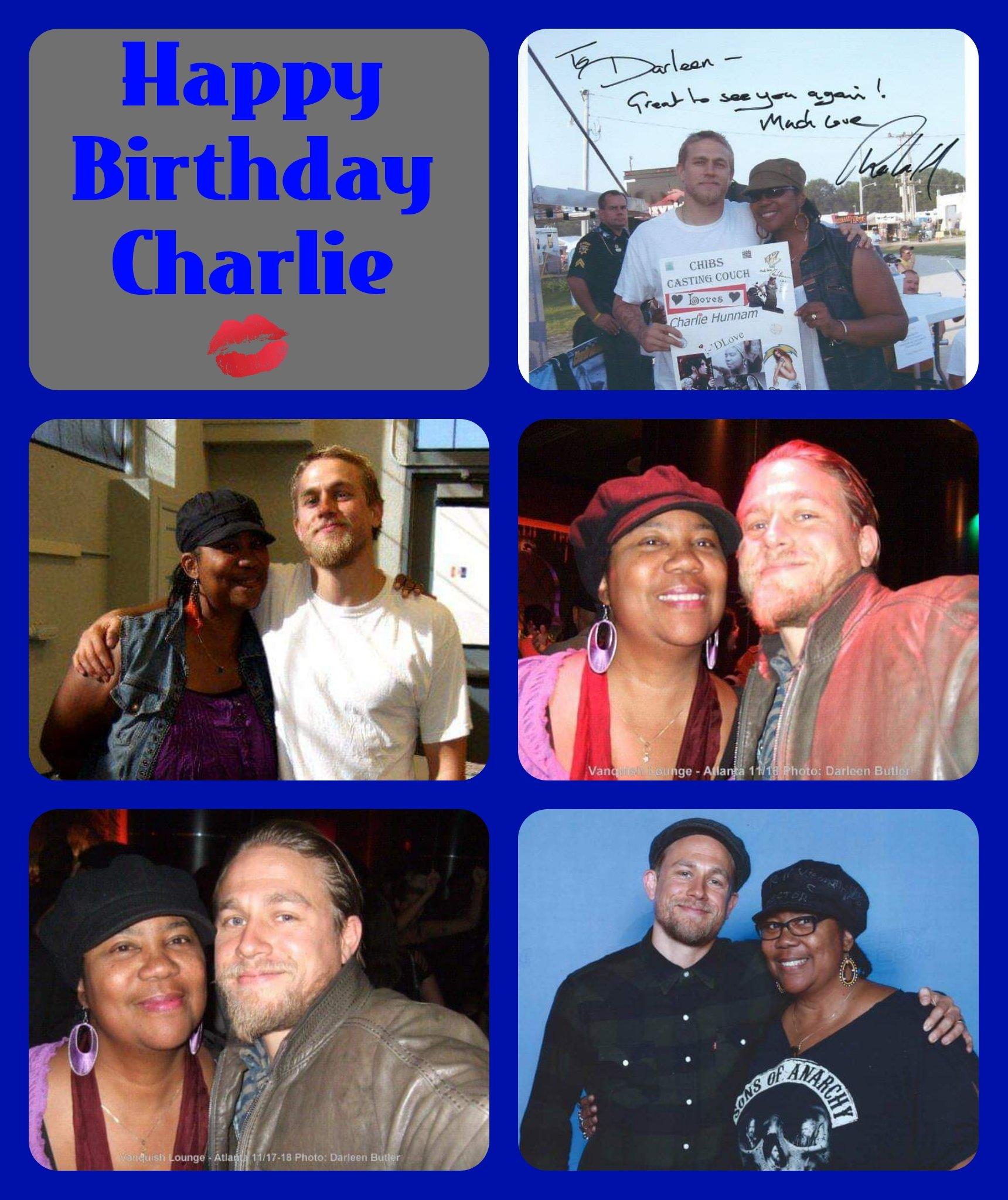 Happy Birthday Charlie Hunnam. Hope your day was grand. LuvznHugz