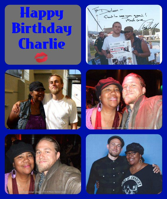 Happy Birthday Charlie Hunnam. Hope your day was grand. LuvznHugz
