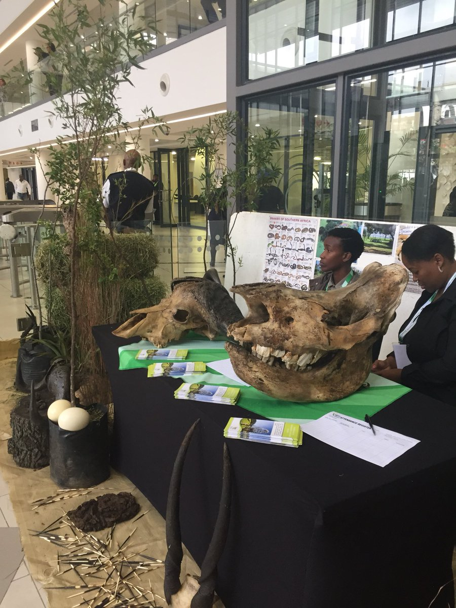 Visit the City's Environmental Management stand at Tshwane House. #SOCA19