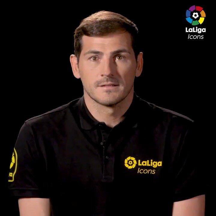 ¿Cuáles son las 3 mejores paradas de @IkerCasillas en #LaLigaSantander? 🔝  ¡Él mismo te lo cuenta! 😉  ⭐ #LaLigaIcons ⭐