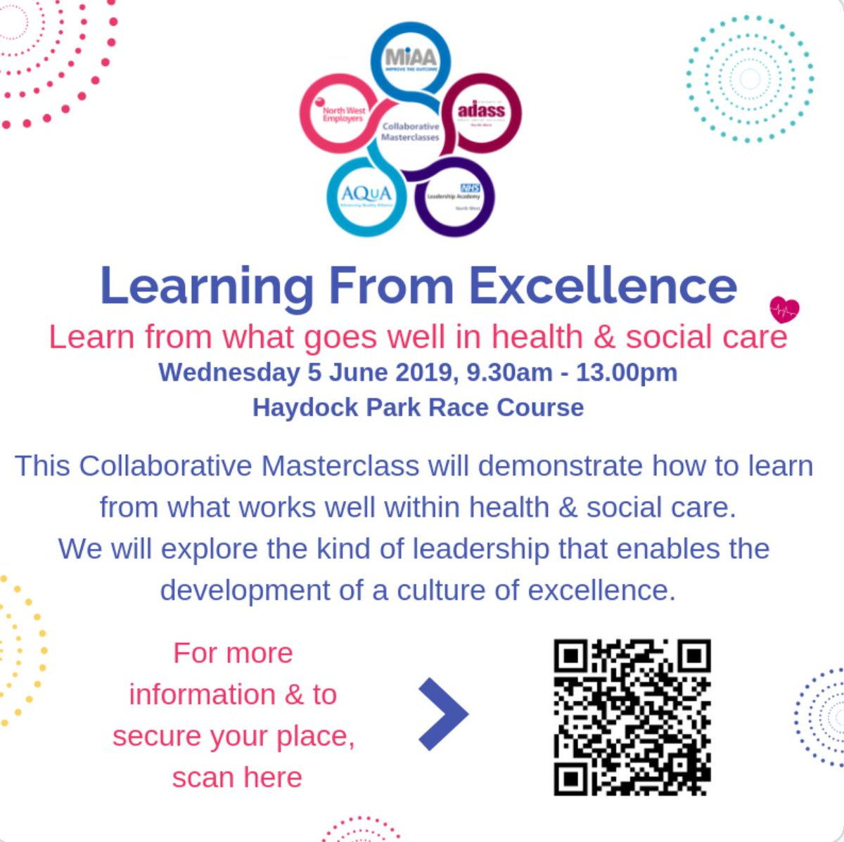 test Twitter Media - Join us Wed 5 June for another #CollaborativeNW Masterclass  Exploring what works well in #health & #socialCare to develop a culture of excellence!  Use the link below to secure a place https://t.co/mKYvJuwcV8 @NWEmployers @AQuA_NHS @nhsnwla @NWADASS https://t.co/rXTPpih07D