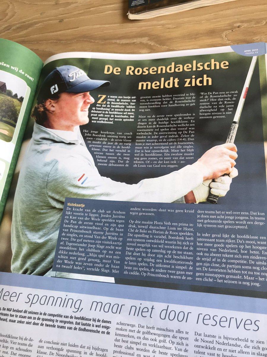 RT @TBudding: De Rosendaelsche meldt zich😃 @Rosend...
