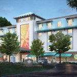 Image for the Tweet beginning: Compass by Margaritaville Hotel coming