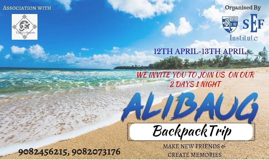 Join us On Our Alibaug Backpacking Trip. #alibaug #beach #career #sef #sefinstitute #summer #weekend #travel #lovetravel #tourism #traveoandtourism #tirrosheaven #india #maharashtra #tourdestination #future #TourismMarketing #networking #mumbai #mumbaikar<br>http://pic.twitter.com/EzeDjGqJ0A