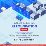 Image for the Tweet beginning: #AMA with @Ki_Foundation (ex-Genki) starts
